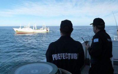 Pesca ilegal en Mar Argentino: Captura de un buque español dentro de la zona económica exclusiva