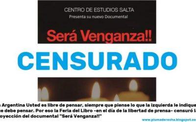 "Censura en Progrelandia: Documental ""Será Venganza"""