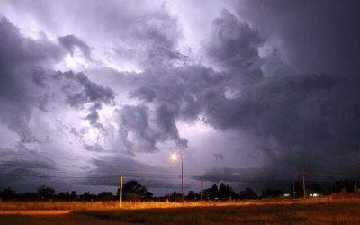 Tradicional tormenta de Santa Rosa concentrada sobre nordeste y centro este del área agrícola