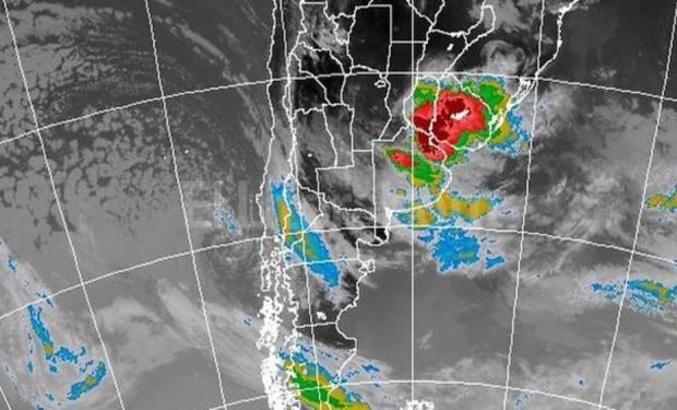 Alerta por tormentas y granizo en Capital y seis provincias