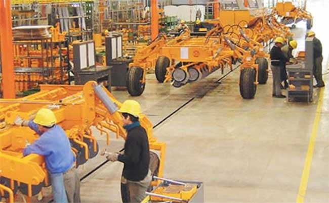 La producción de maquinaria agrícola creció un 13%