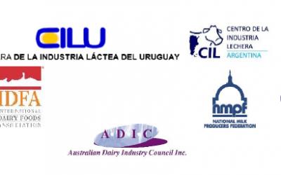 Las principales asociaciones lecheras mundiales piden a los líderes del G20 que apoyen a la OMC