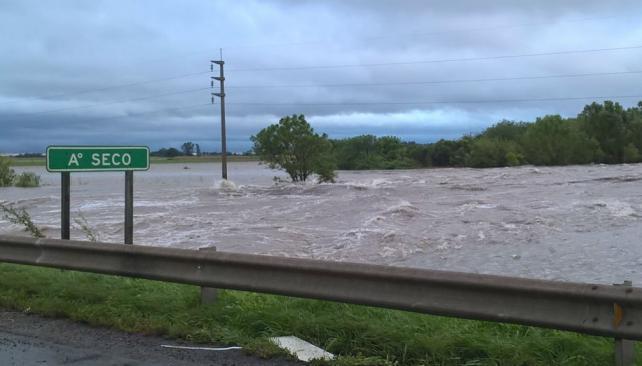 En solo 72 horas, Santa Fe recibió las lluvias de toda la primavera