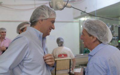 Etchevehere acompañó a pymes agroalimentarias en Río Cuarto