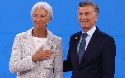 La jefa del FMI felicitó a MACRI por la  organización del G20
