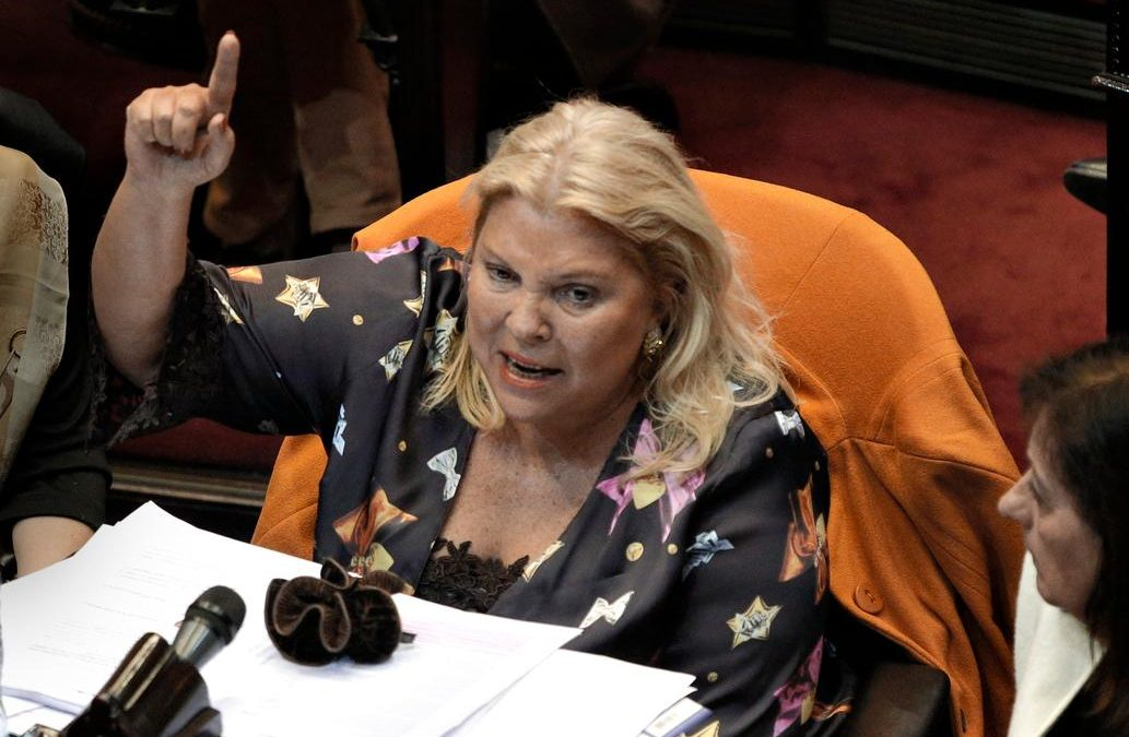 Carrió cuestionó funcionamiento del Poder Judicial