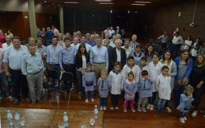 Etchevehere presentó la finalización de obras de caminos rurales en Ayacucho