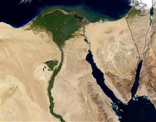 Los fertiles campos del Delta del Nilo, amenazados por el cambio climático