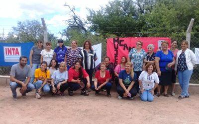 Mujeres campesinas de La Rioja fortalecen su capacidad productiva