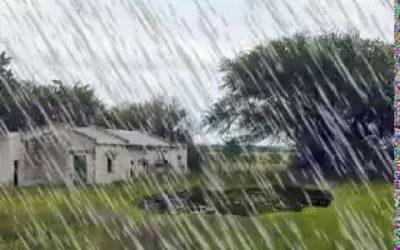 Prevén precipitaciones sobre el centro y norte del área agrícola