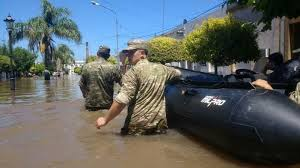 Más de 5 mil evacuados por las inundaciones en cuatro provincias