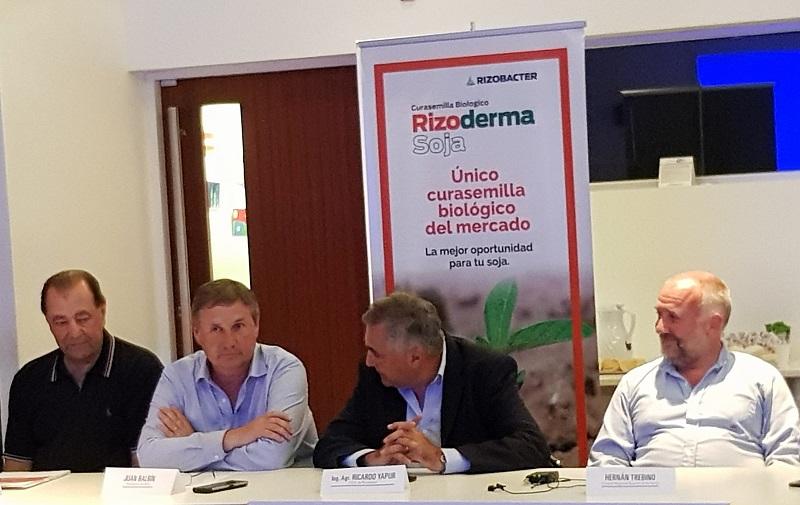 El curasemilla biológico Rizoderma recibió una Mención de Honor de la Fundación ArgenINTA