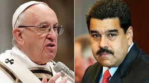 Filtran carta del Papa con dura respuesta a petición de Maduro