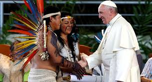 Papa se reúne en Roma con los indígenas del mundo