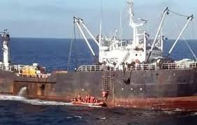 Capturaron un buque pesquero que operaba de manera ilegal