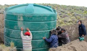 Acceso al agua para productores de la comunidad mapuche y  escuelas rurales neuquinas