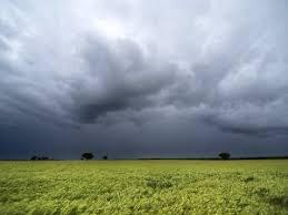 Breve ascenso térmico acompañado por precipitaciones sobre el norte del área agrícola