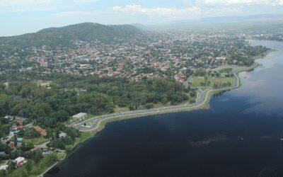 El INTA y otros organismos intervienen en el saneamiento del dique San Roque, en Carlos Paz, Córdoba