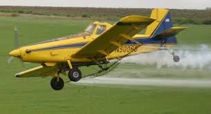 Afirman que el avión también es una herramienta agrícola
