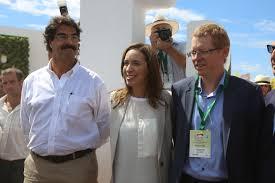"""""""Se viene cosecha récord de maíz y más recuperación de la ganadería"""" dijo Sarquís en Expoagro"""
