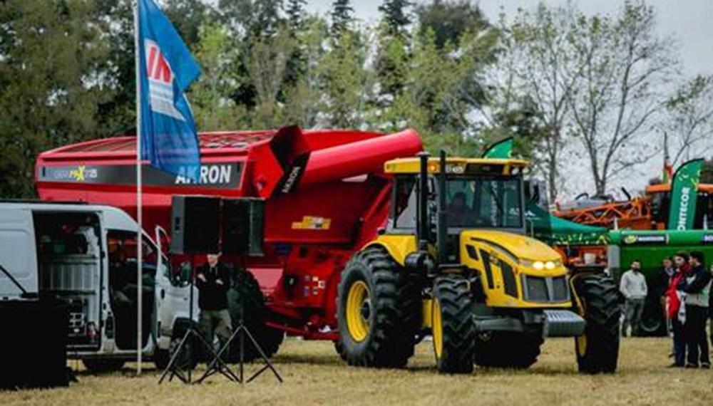 La producción total de maquinarias agrícolas tuvo un desplome del  28,2% en 2018