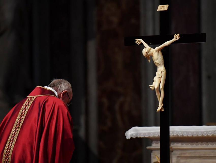 Celebraciones de Triduo Pascual presididas por el Santo Padre