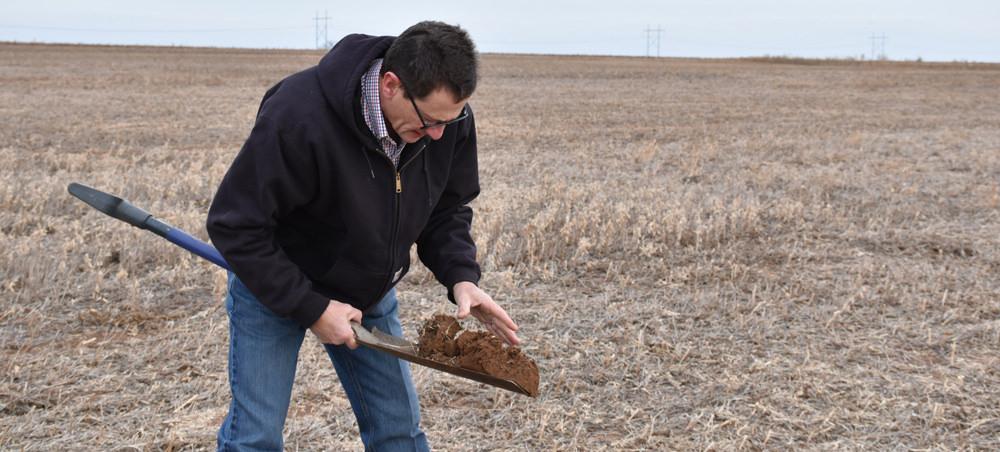 Los agricultores están entusiasmados con la salud del suelo, esa es una buena noticia para todos nosotros.