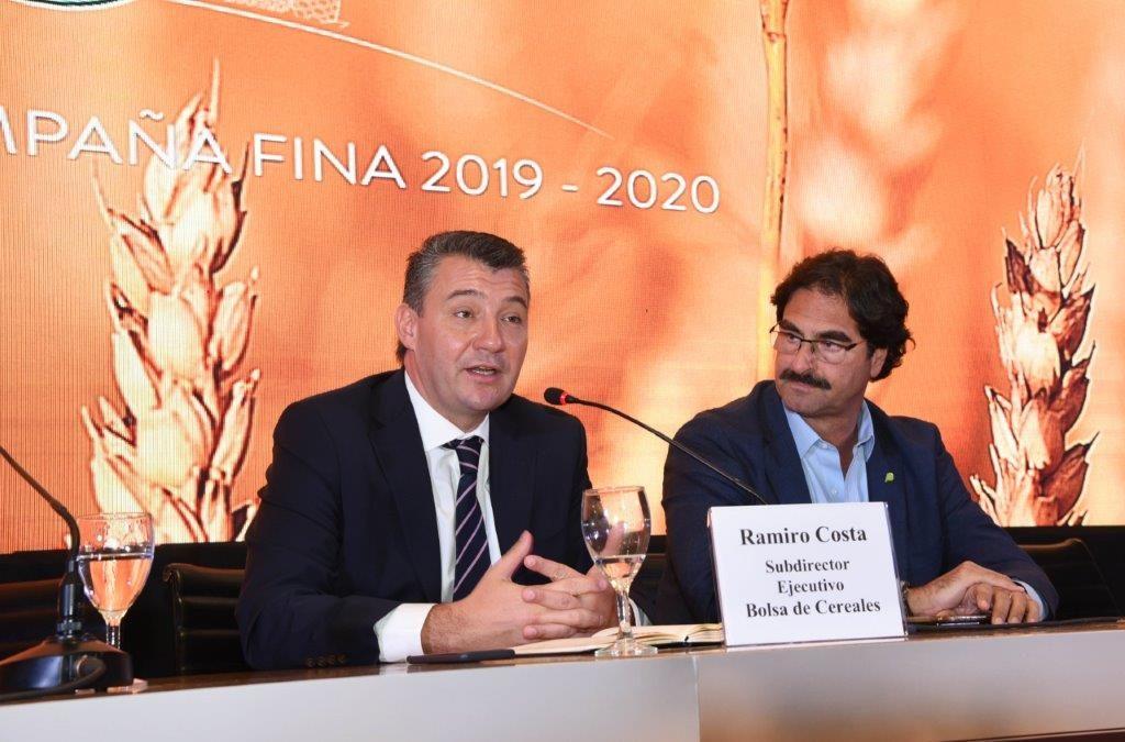 Para la Campaña Fina 2019-2020 se espera una cosecha récord próxima a las 25 millones de toneladas