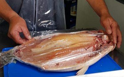 Pescadores presentan un espacio habilitado para la venta directa