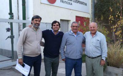 Carlos Iannizzotto visitó el Alto Valle de Río Negro y Neuquén