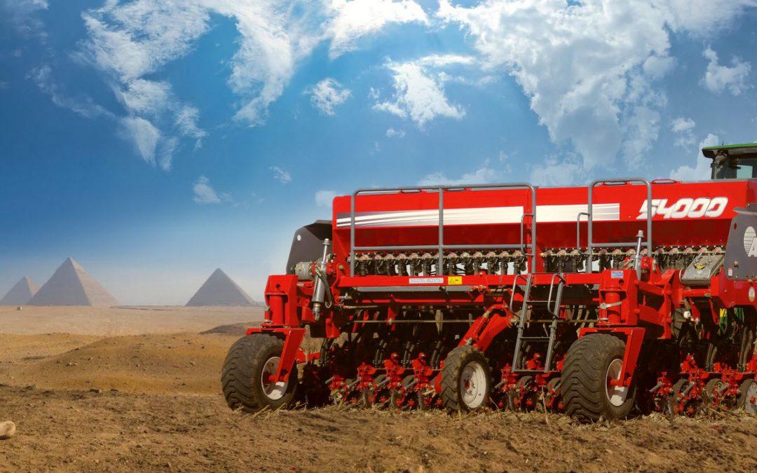 Egipto importó la primera sembradora argentina