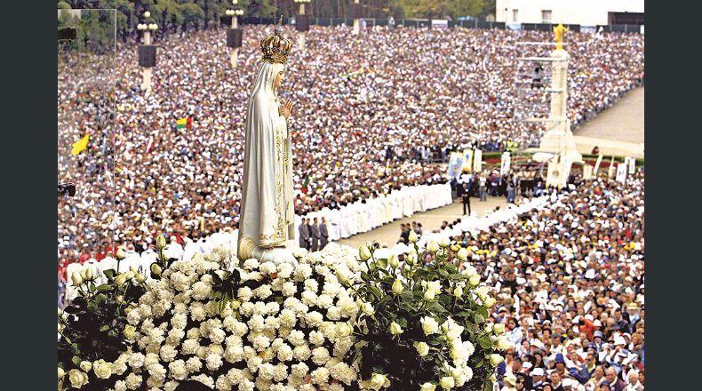 Los católicos celebran hoy el día de la Virgen de Fátima