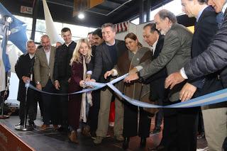 """Etchevehere y autoridades nacionales inauguraron la 15° Feria """"Caminos y Sabores"""""""