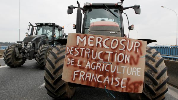 Ganaderos europeos urgen rechazar el acuerdo UE-MERCOSUR
