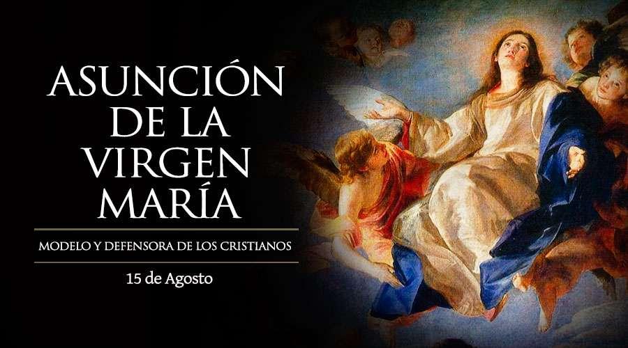 Hoy se celebra el día de la Asunción de la Virgen María