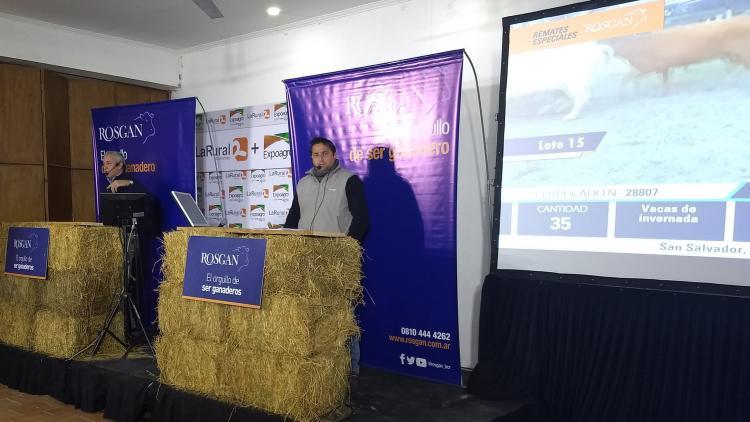 La ganadería siguió al dólar: Rosgan remató en Expoagro Corrientes y levantó todos los precios