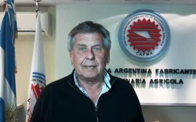 Néstor Cestari asumió como nuevo presidente de la Cámara deFabricantes de Maquinaria Agrícola