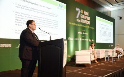 Innovación, marco regulatorio y sustentabilidad, los tres ejes relevantes del 7° Congreso de Semillas de las Américas