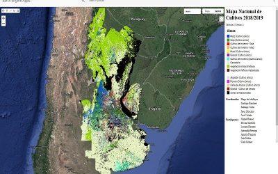 El primer mapa nacional de cultivos extensivos cubre 118 millones de hectáreas