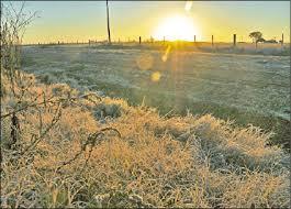 La primavera comienza con precipitaciones escasas y una marcada oscilación térmica