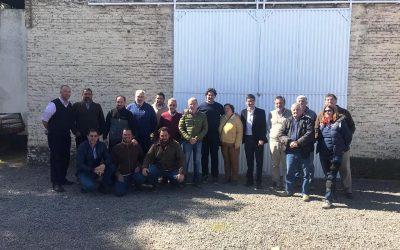 Durante una visita a Pringles y Bolívar, Sarquís destacó el trabajo conjunto con el Ministerio de Seguridad para evitar casos de delitos rurales