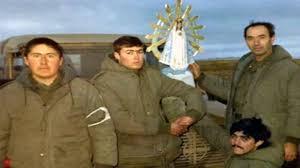 Imagen de la Virgen de Luján que estuvo en la guerra de de Malvinas fue bendecida por el Papa y regresará al País tras 37 años en Inglaterra