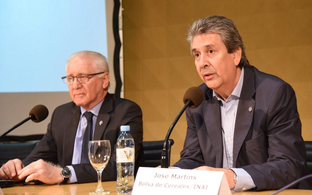 Se llevó a cabo en la Bolsa de Cereales el Seminario Big Data y Blockchain: Aplicación de nuevas tecnologías para la agroindustria argentina