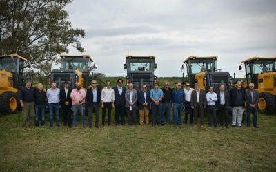 Comienza la reparación de 4 mil kilómetros de caminos rurales troncales en la Provincia