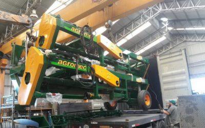 Las máquinas agrícolas también pueden aportar dólares