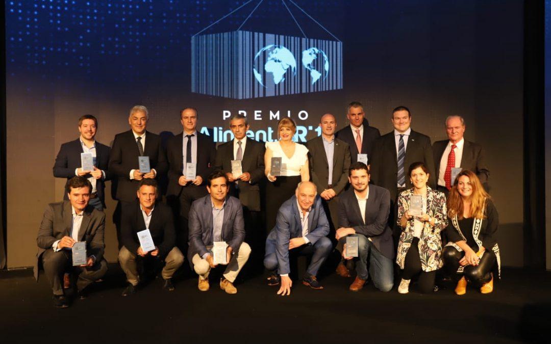 Quince empresas argentinas fueron reconocidas con el Premio Aliment.Ar