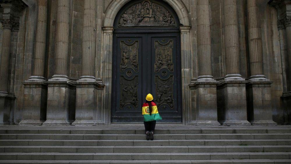 Los obispos bolivianos llaman a una transición pacífica
