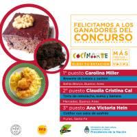 El Concurso CocinARTE ya tiene sus ganadores