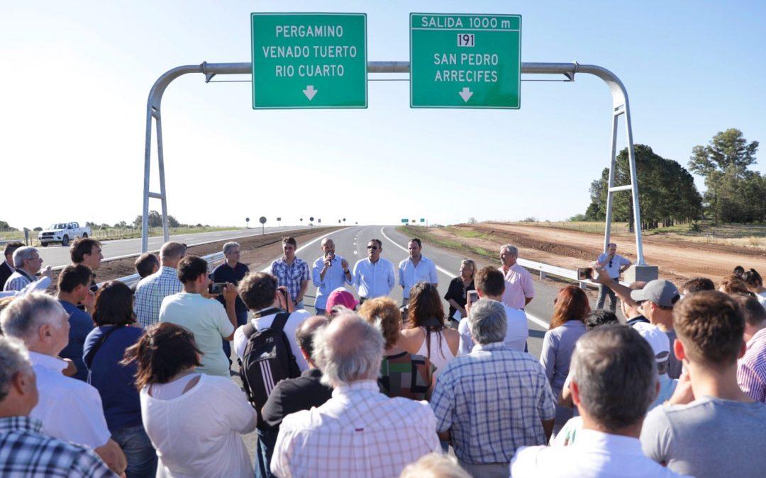 La autopista de la ruta nacional 8 suma 15 nuevos kms en Buenos Aires