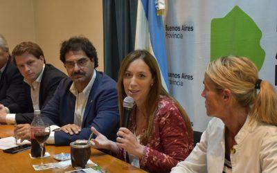 Vidal encabezó la última reunión de la Mesa Agropecuaria Provincial
